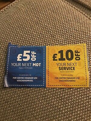 ATS Euromaster Garage MOT and service Voucher Duo Valid Until April 30th