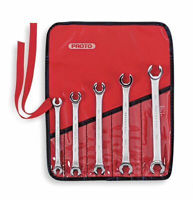 Proto Flare Nut Wrench Set, Metric, Number of Pieces: 5, Number of Points: 6