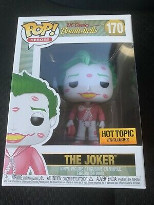 Funko DC Comics Bombshells: The Joker #170 (With Kisses) Hot Topic 💥 IN HAND 💥