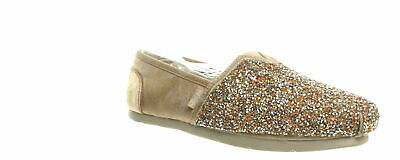 Bobs By Skechers Womens Rose Gold Loafers Size 8 (856933)