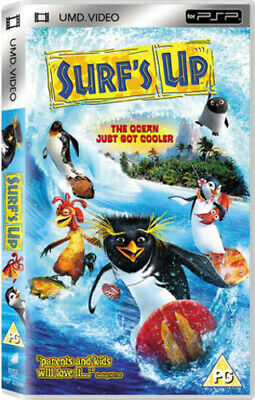 Surf's Up DVD (2007) Ash Brannon cert PG Highly Rated eBay Seller Great Prices