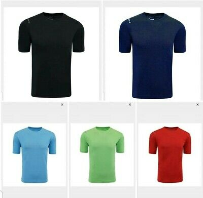 Reebok Men's Endurance T-Shirt PlayDry Polyester Multi Sizes & Colors New w/Tags