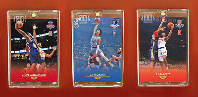 Zion Williamson | Ja Morant | RJ Barrett | Rookie Card Set | Generation Next