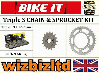 Kawasaki GPZ500 S EX A7 D1-7 E9-10 1996 DID Gold X-Ring Chain and Sprocket Kit