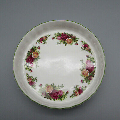 Royal Albert Fine China OLD COUNTRY ROSES Bakeware Quiche