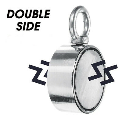 Double Side Neodymium Magnet Fishing Metal Sea Treasure Search Recovery Magnet