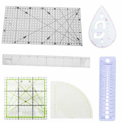 Patchwork Ruler Quilting Tools Thick Acrylic Fabric Cloth Ruler Patchwork Sewing