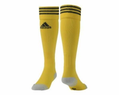Adidas Adisock 12 Football Socks, Yellow, UK 2.5 - UK 4, EU 34 - EU 36, BNWT