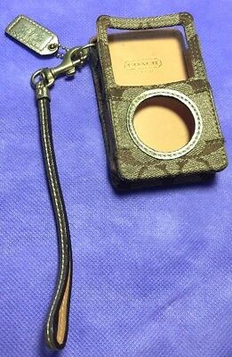 Pre-owned Coach iPod Case// Fast Shipping ::(138)