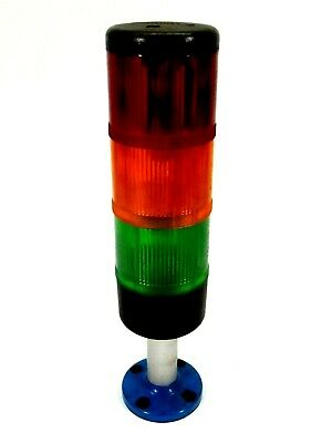 Telemecanique Stack Light Signal Tower Red Amber Green