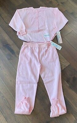 Vintage Women's Stefano Pretense Sports Pink Sweat Suit Track Suit