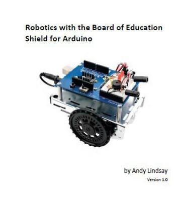 Learning Robotics with the Board of Education Shield for Arduino PDF