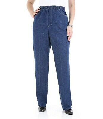 New Chic Women's Scooter Cotton Pull-On Pants With Elastic Waist