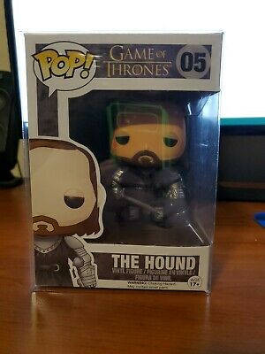 Funko pop game of thrones the hound in pop protector
