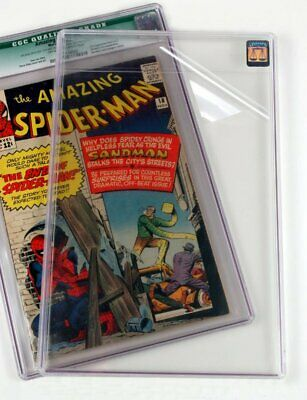UV CLEAR PROTECTOR film CGC PGX Avengers Graded Comic Books. CASE NOT INCLUDED