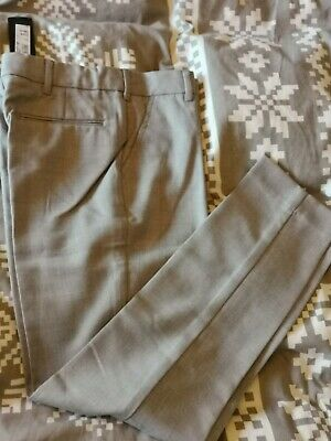 BNWT grey check suit trousers by RIVER ISLAND in size 8 years