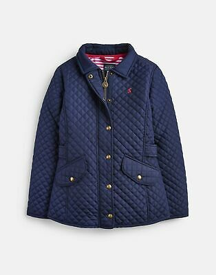 Joules 207105 Quilted Jacket in FRENCH NAVY