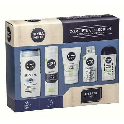 Nivea Men Complete Collection Male Grooming Gift Set Kit Brand New