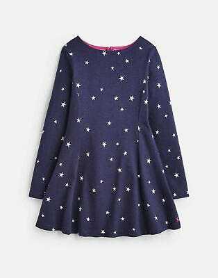Joules 207122 Jersey Skater Dress - FRENCH NAVY STAR