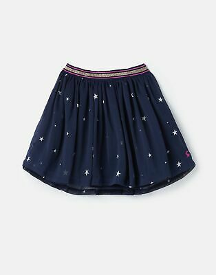 Joules 207161 Chiffon Woven Skirt - FRENCH NAVY STAR