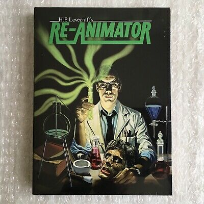 RE-ANIMATOR Digipack 2 Blu-Ray Edition Limitée 1000 exemplaires New & Sealed