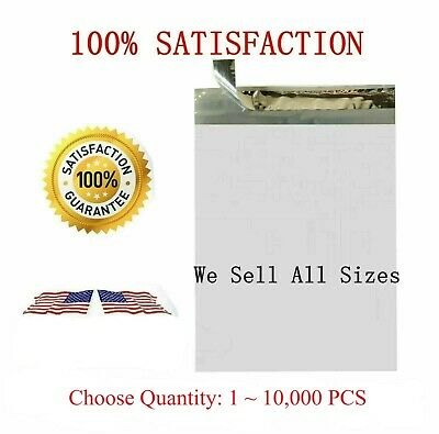100 500 10000 6x9 Poly Mailers Envelopes Self Sealing Shipping Bags 2.35 Mil *
