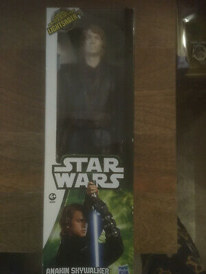 "Star Wars Hasbro Anakin Skywalker 2013 Action Figure 12"" NEW in box"