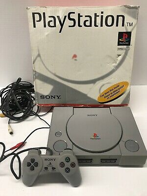 Sony PlayStation 1 Launch Edition Console - Gray