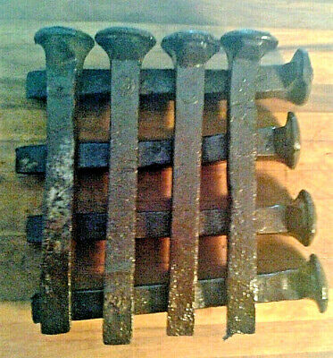 RAILROAD Spikes CUSTOM ORDERS Rusty Reclaimed Old Authentic