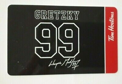 Tim Hortons Gift Card Wayne Gretzky 99 from 2020