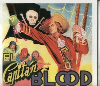 Album de Cromos: El Capitan Blood