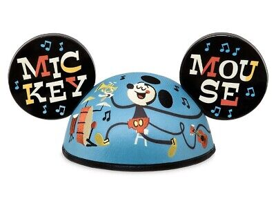2020 Disney Designer Collection Mickey Mouse Musical Ear Hat by Dave Perillo