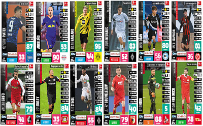 Match Attax 19/20 2019/20 Exclusive New Signings International Pack 5 CARDS MINT