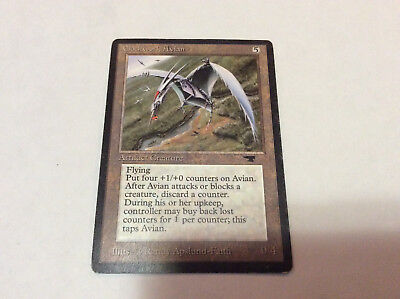 Antiquities Original Magic MTG VG Clockwork Avian