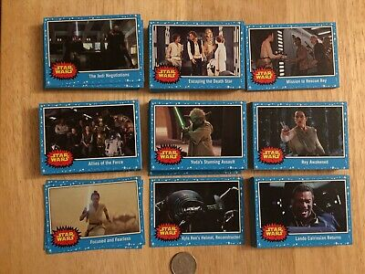 Star Wars Journey To The Rise Of Skywalker Card Set Topps 2019