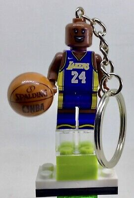 KOBE BRYANT 24 8 LAKERS LEGEND  KEYCHAIN IN LOVELY BOX ADDED THE gift lego movie