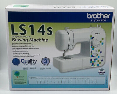 BROTHER (LS14s) COMPACT FREE ARM SEWING MACHINE - BRAND NEW