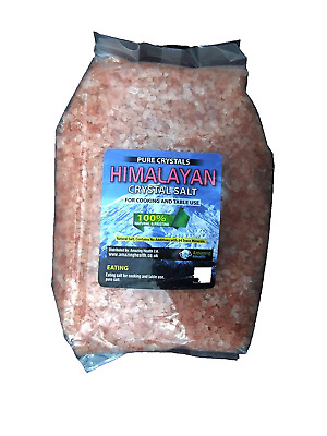 Amazing Health ® 2kg Himalayan Salt Eating Granulated for Salt Mill Grinders
