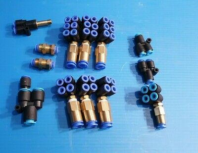LOT OF SMC MIXED  FITTINGS (r1s4.6b1)