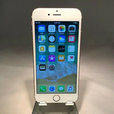 Apple iPhone 6S 128GB Rose Gold AT&T Unlocked - Very Good Cond - Bad Mute Switch