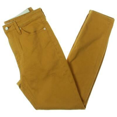 Calvin Klein Jeans Womens Gold High Rise Colored Skinny Jeans 30/30 BHFO 4153