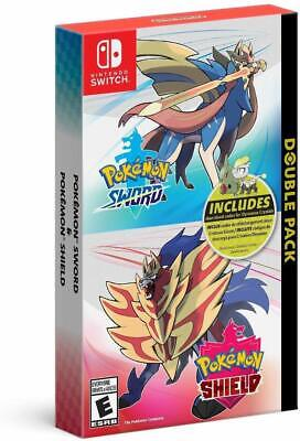 Pokemon Sword and Shield Double Pack  ( Nintendo Switch )Brand NEW