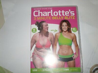 Charlotte Crosby's 3 Minute Belly Blitz [DVD] [2014] - DVD KEEP FIT FREEPOST