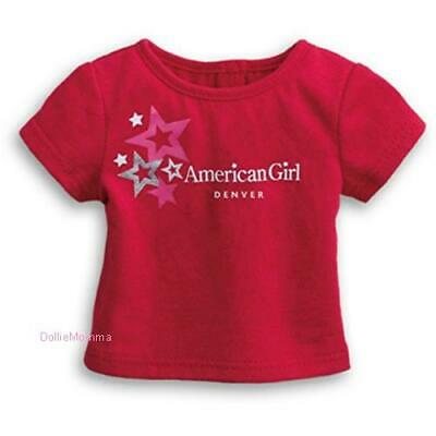 AMERICAN GIRL San Francisco Red Tee T-shirt Collector/'s Item NWT Valentines