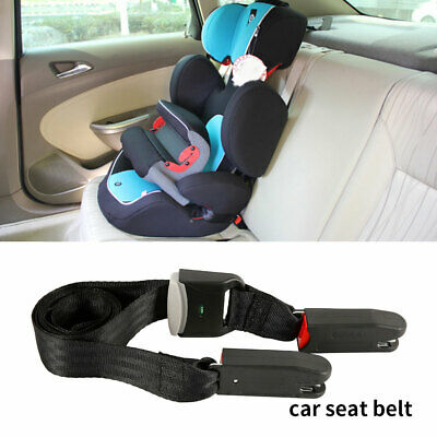 Kids Child Safe Car Seat Strap Kit Install Fixed Belt Connector Isofix Latch