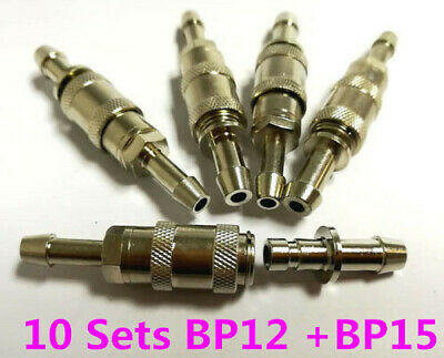 10 SETS NIBP Cuff Connector Blood Pressure Hose Quick Male+Female Bayonet socket
