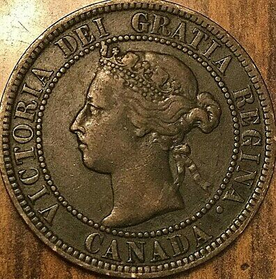 1900 Canada Large Cent Large 1 Cent Penny