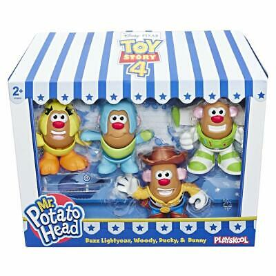 Disney Toy Story 4 Sr. Potato Head Mini Figuras 4 Paquete de Acción Set