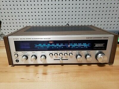 SUPERSCOPE R-1270 RECEIVER MARANTZ Tested / Works - 1 Light is Out