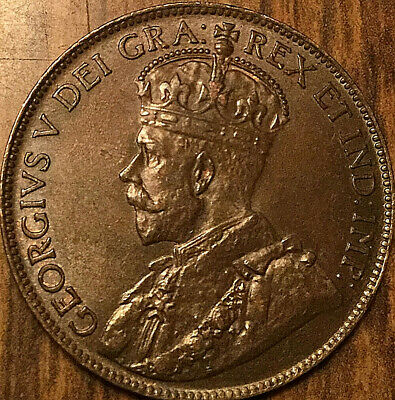 1920 CANADA LARGE CENT LARGE 1 CENT PENNY - Uncirculated